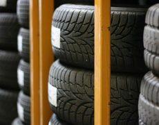 Deposito pneumatici per auto e autocarri